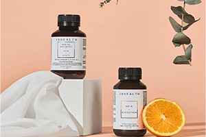 Styled product photography